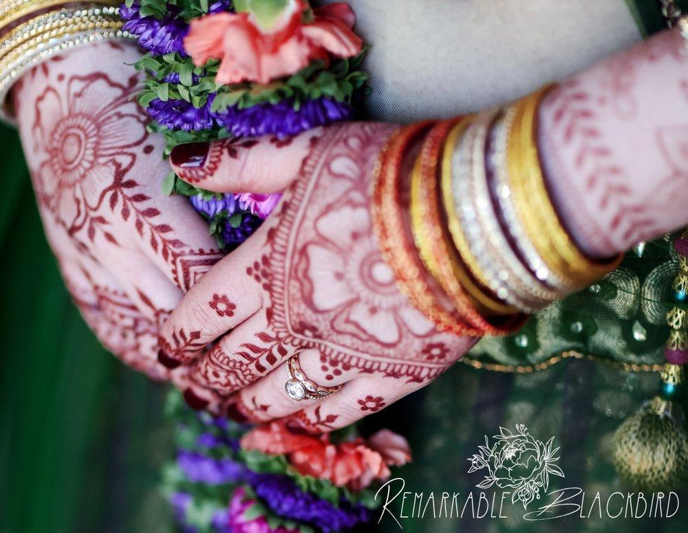 Floral fusion bridal