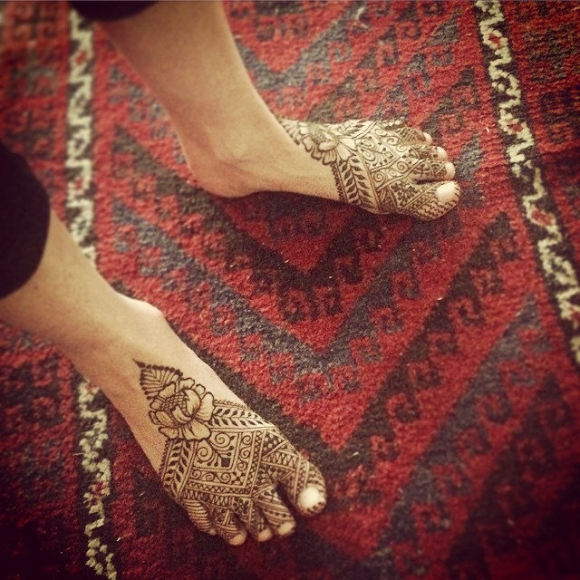 Moroccan fusion slippers