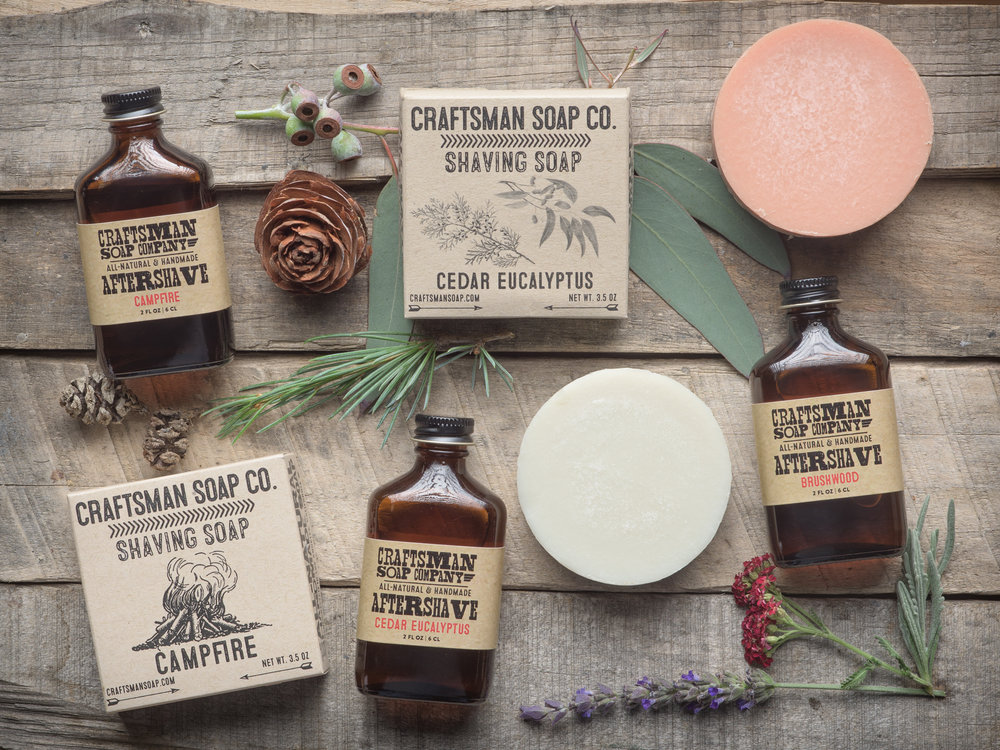 wet shave goods from craftsman soap co