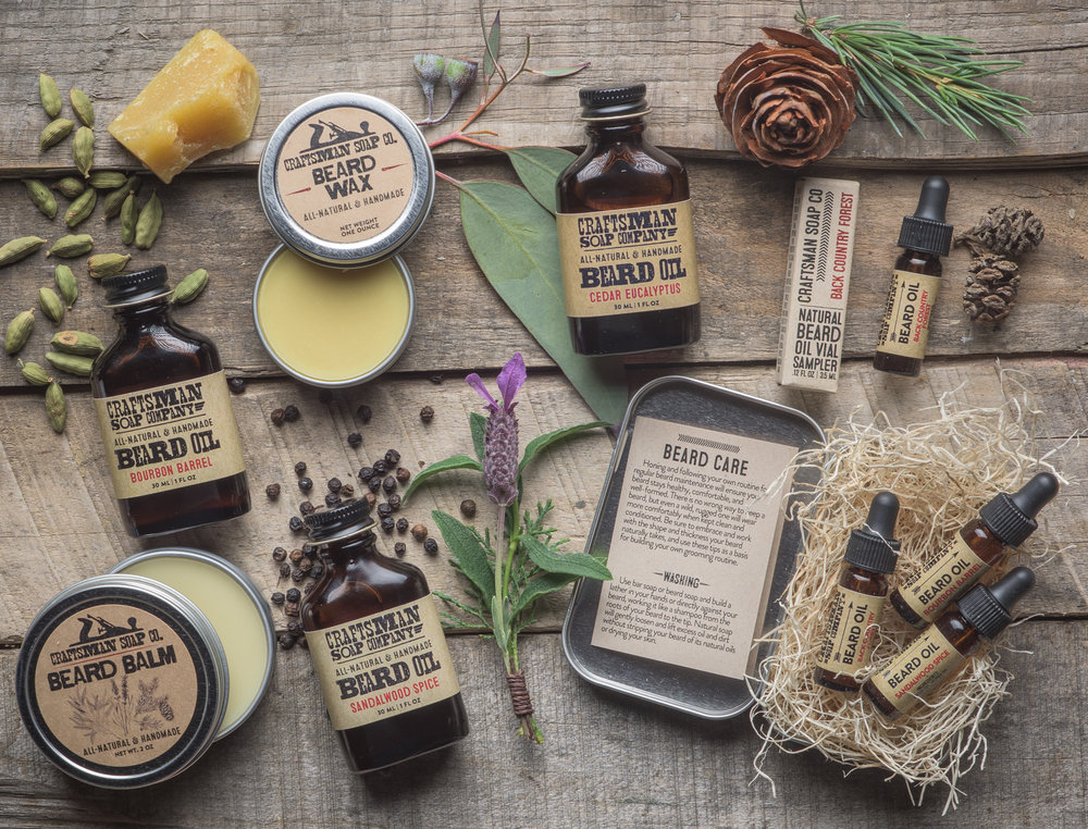 beard care from craftsman soap co.