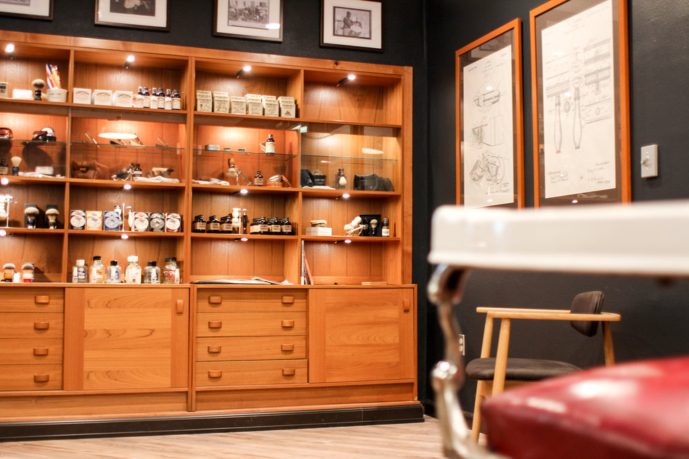 Visit Portland Shave Shop - Located in the Lair Hill Neighborhood, south of Downtown PortlandPortland Shave Shop120 SW Grover St. #204Portland, OR 97239(971) 266-8864Open:10 AM - 5 PM Tuesday-Friday10 AM - 7 PM SaturdayCLOSED Sunday & MondayStreet Parking AvailableWalkable from South Waterfront MAXWe are located upstairs on the second floor of a controlled access building. The entrance is bright red and located on SW Grover St.Use the A-Z buttons on the callbox to call Portland Shave Shop and we will buzz you in.