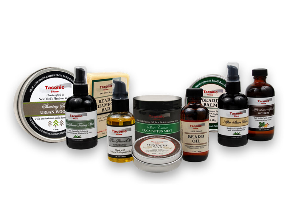 Taconic Shave - Taconic Shave is the premier line of natural men's shaving soaps, creams and aftershave products – all proudly artisan-made in the USA. These specially formulated products help wetshavers achieve the most comfortable and enjoyable shave possible. The Taconic Shave products are an all-natural line of shaving products that are crafted in small batches ensuring the consistent, high-quality merchandise that our customers have come to expect.