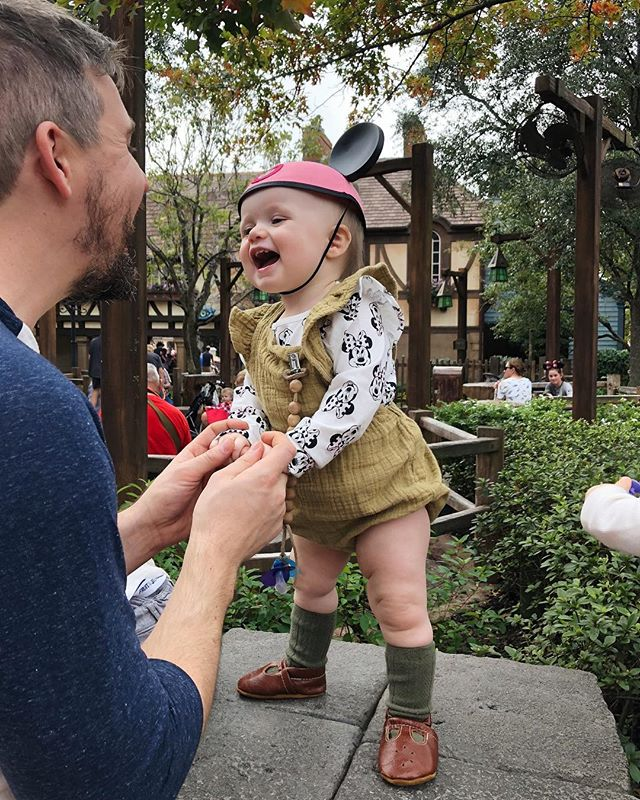 The only thing more magical than Disney World is your babies at Disney World. 😭 Baby girl lived her best life today. We all did.