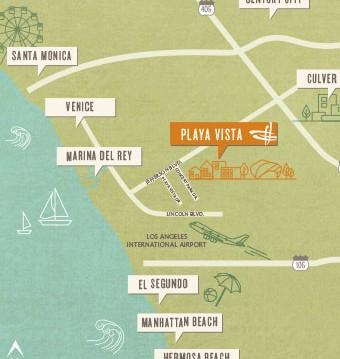 playa map