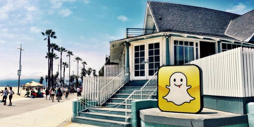 Snapchat's first office in Venice Beach. Glassdoor