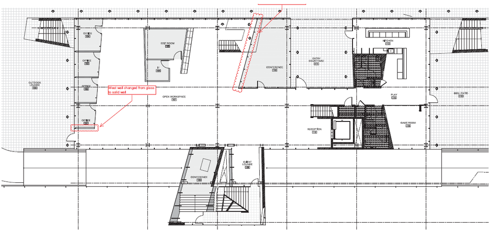 Ground Floor Space Plan