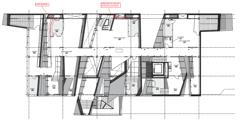 Second Floor Space Plan