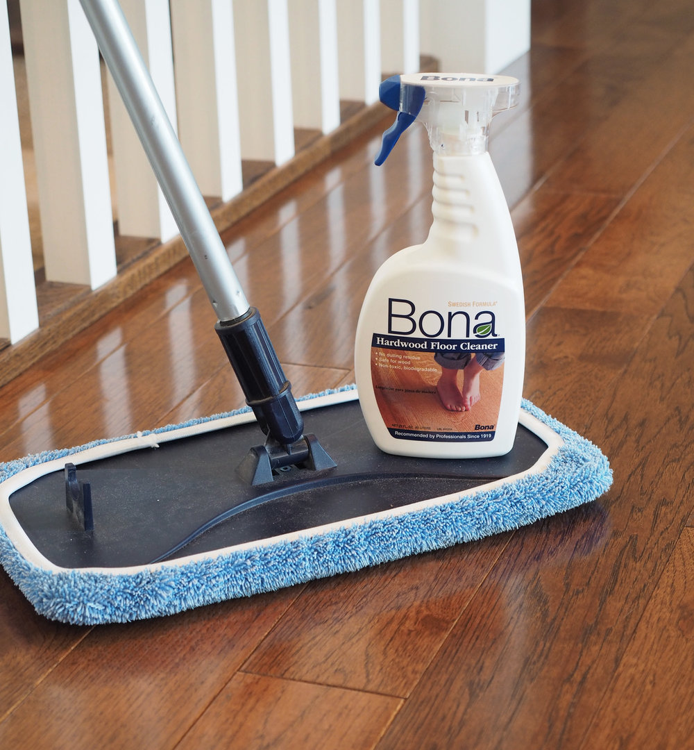 Bona Hardwood Floor Cleaner is the bomb.com! lol Does anyone say that anymore?