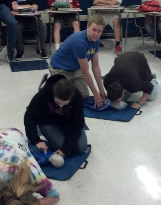 Norwin High School CPR Class