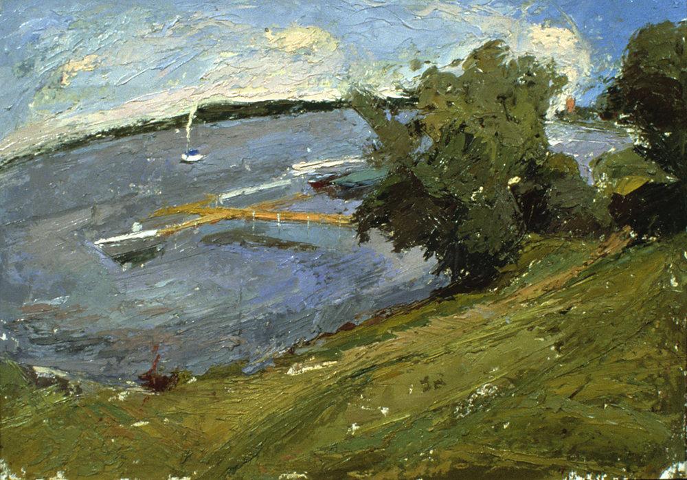 09, Lake Chautauqua, oil on paper, 2000.jpg