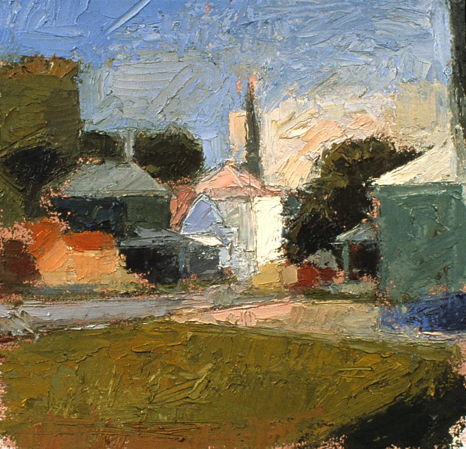 16, John Street, oil on paper, 2001.jpg