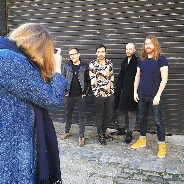 Audi took us around in East London yesterday. Thanks for bearing with us! Also, time for news: chiara is no longer playing with us but still making great music, check her out on social media. We are now 50% Aussie, come over on Saturday and say hi to our new drummer Julian!
