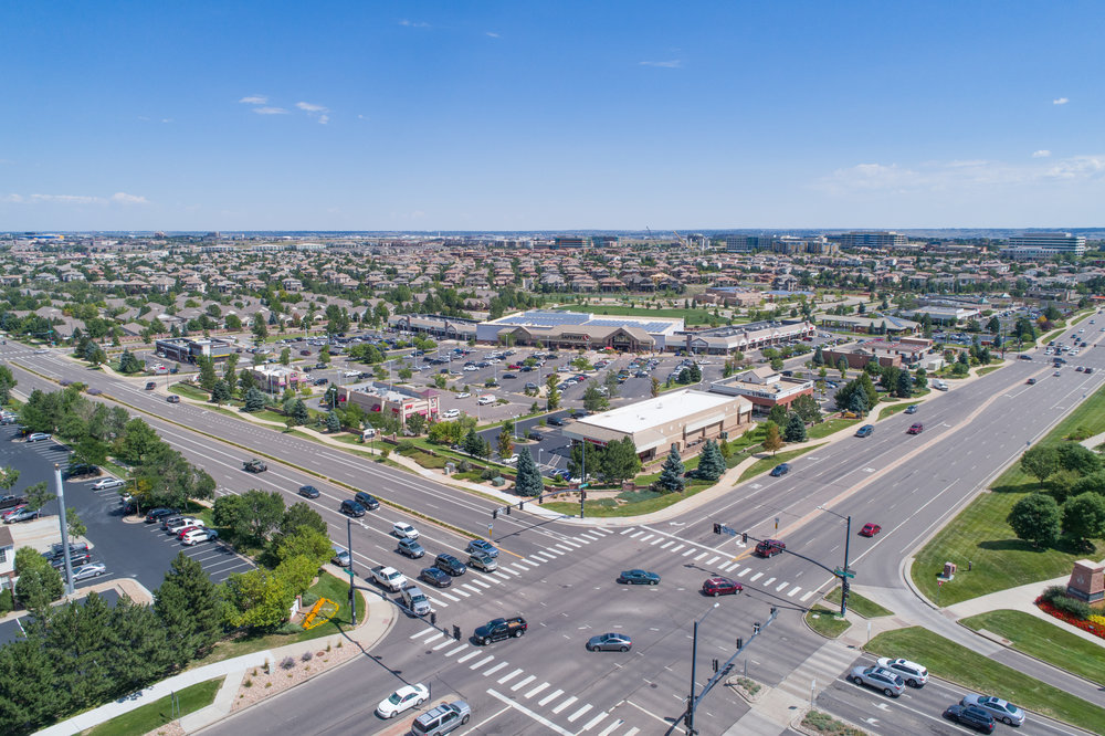 Safeway Plaza development - Lone Tree