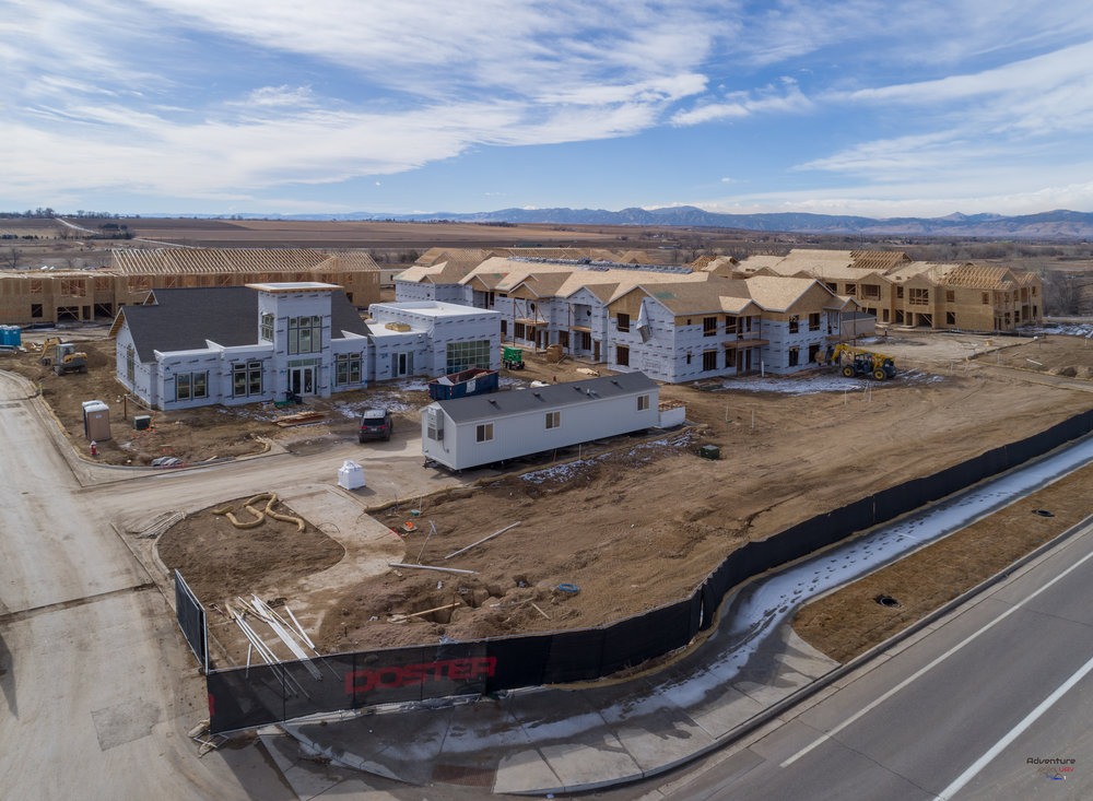 Sandstone Ranch development - Longmont