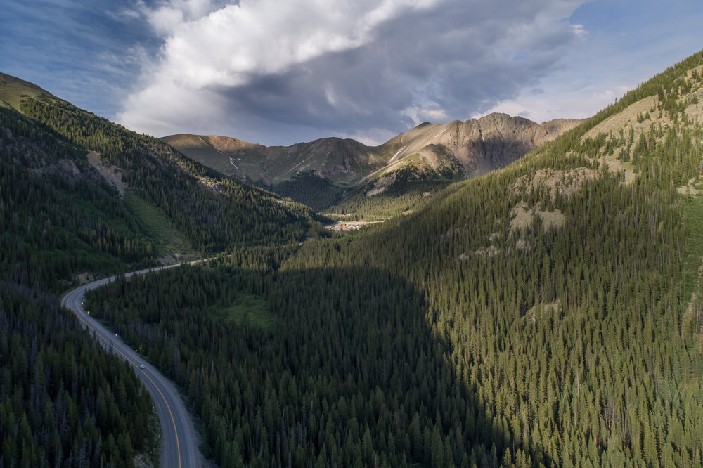 Loveland Pass - west side