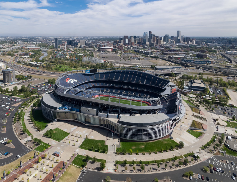 Mile High Stadium - Denver