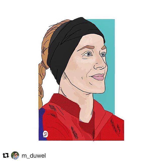 #Repost for #FanArtFriday! This piece of @reeba04 was done by @m_duwel ・・・ Make sure to tag us in your fan art to be featured! #WeRepKC