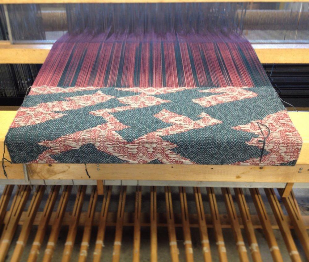 double weave process