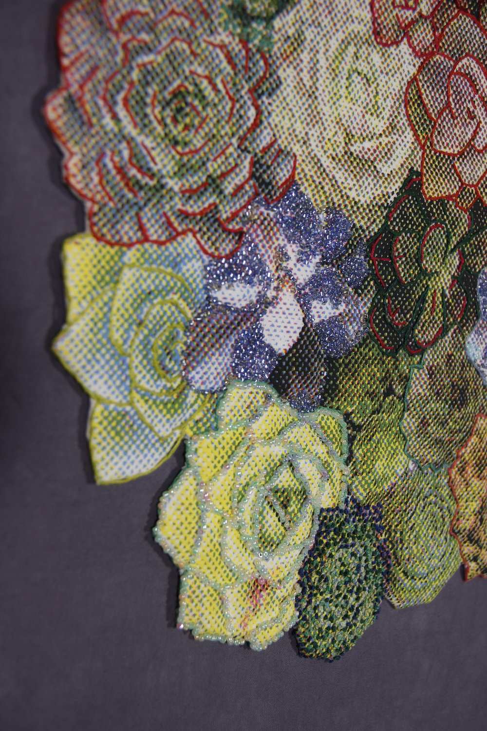 Succulent Bouquet detail
