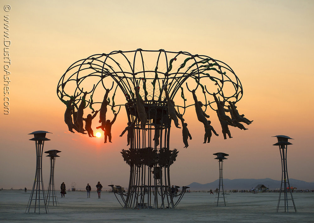 Installation @ Burning Man, 2007