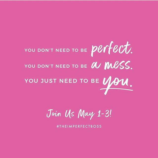 Next week, my friend @ashley.beaudin is hosting #theimperfectboss campaign where hundreds of women will crash social media with confessions of why they're awesome. So many women can name all the ways they're imperfect so easily, but struggle to say what they're good at with confidence. Join us in an epic celebration of women next week as we see the good in us and the good in one another. You are invited. www.bit.ly/imperfectboss #theimperfectboss