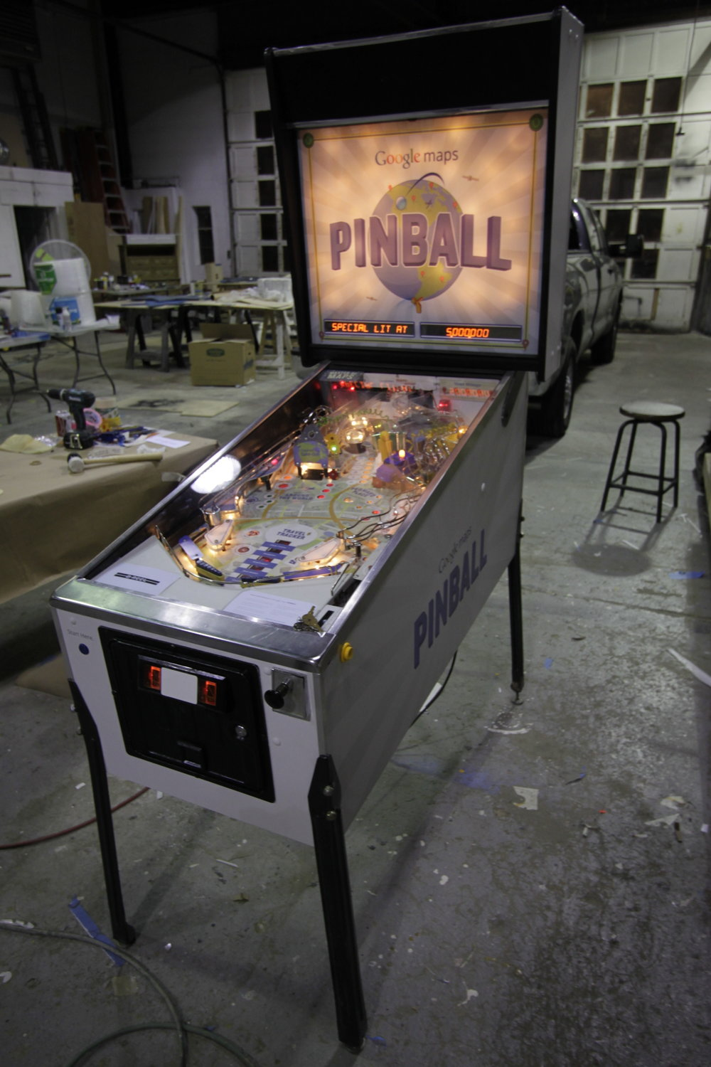 Google Pin Ball - 2012