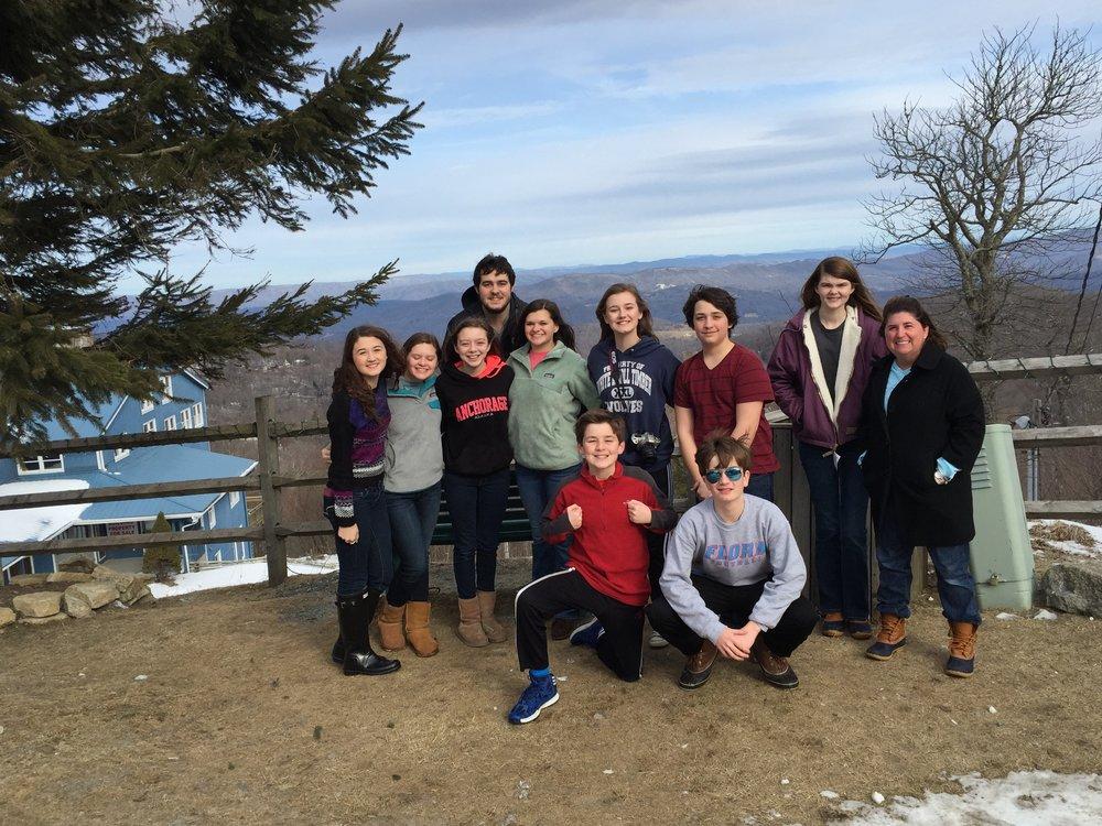 Youth Ski Trip 2015