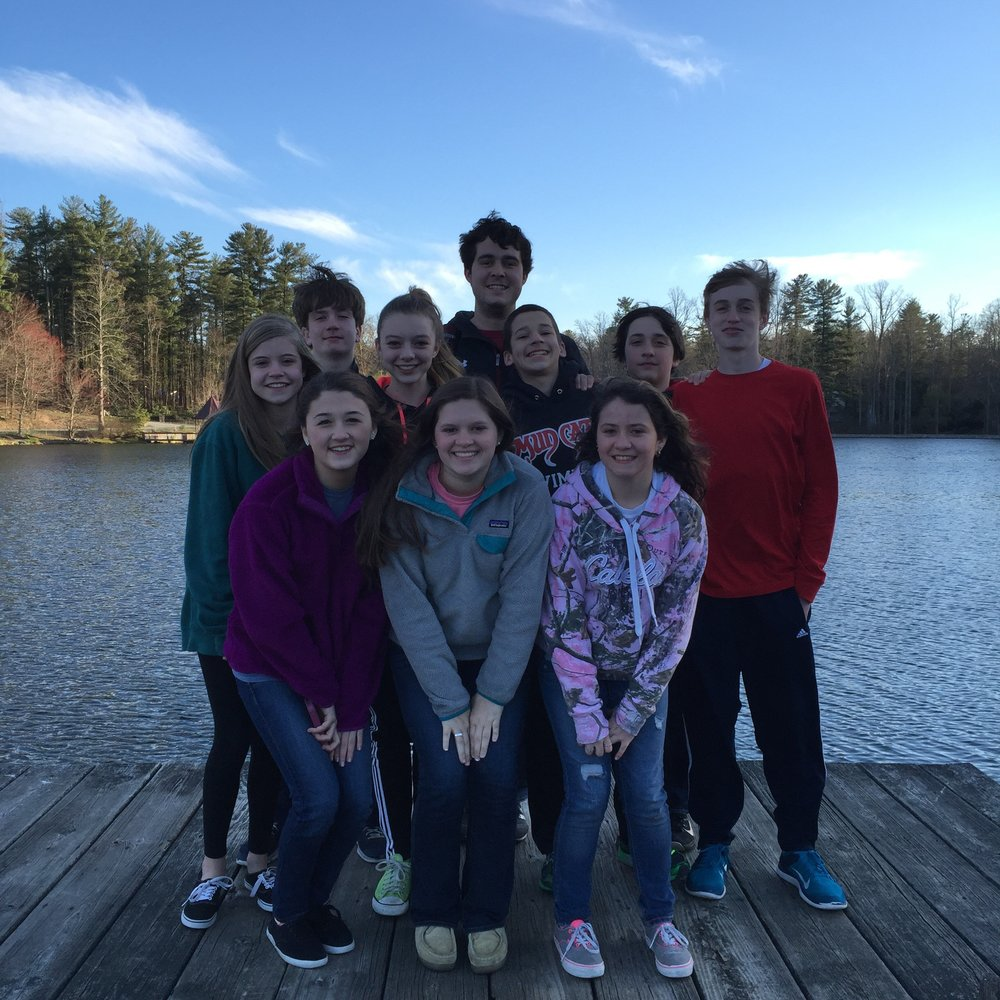 Middle School Spring Retreat 2015