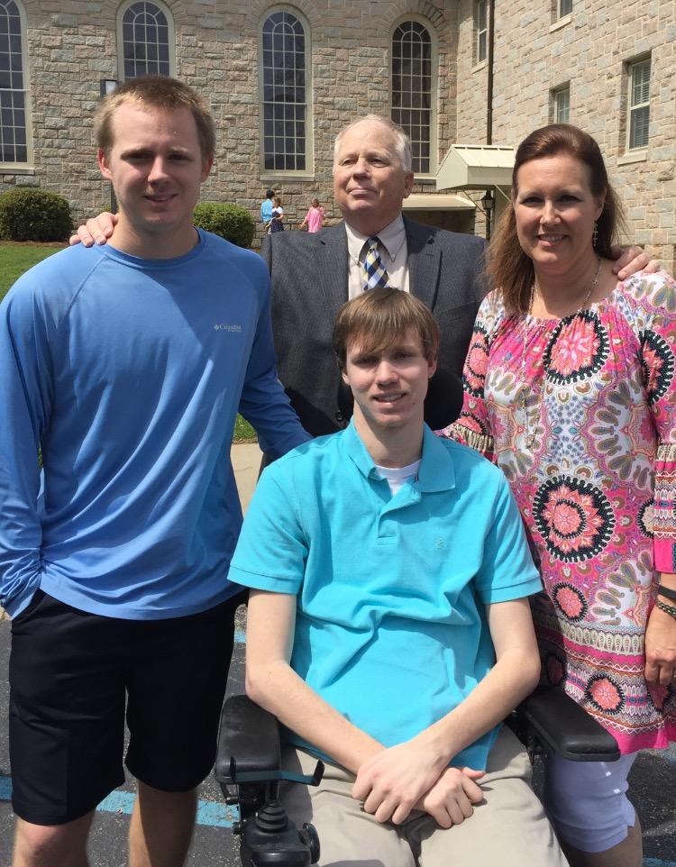 Harrison, Steven & Allison. Chris and Ricky