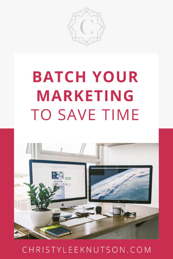 batch your marketing