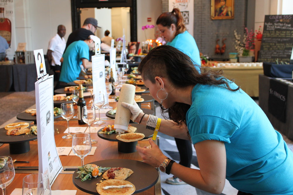 Event plating