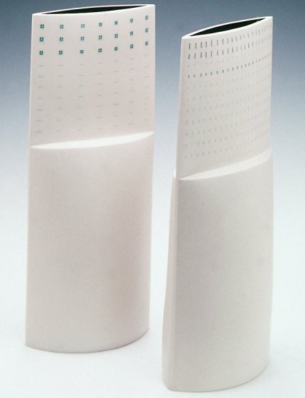 Two Stepped Vessels, 2001