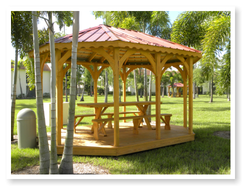 Picnic Areas – Gazebos
