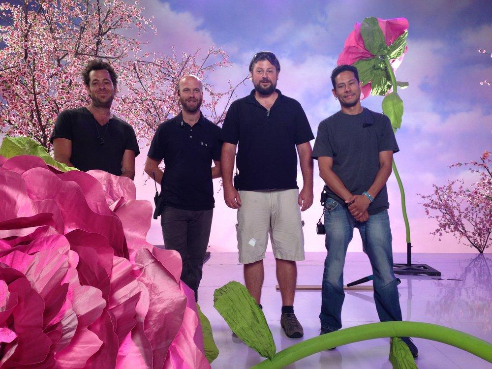 My flower fairies; the dream team: Matt, Ben, Jeremy and Mike xxx