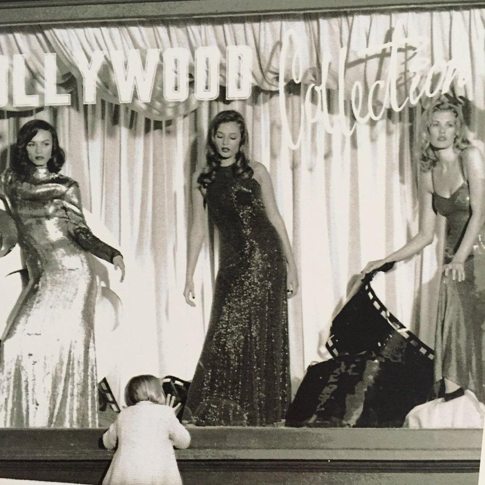Ralph Lauren with Peggy Sirota -