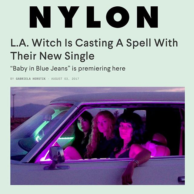 "Listen to the new @la_witch  single ""Baby in Blue Jeans"" via @nylonmag :  https://www.nylon.com/articles/la-witch-baby-in-blue-jeans-premiere 👽⚡️🎃👽⚡️🎃👽⚡️🎃 They are playing at @waltersdowntown October 22nd as part of @end_hip_end_it psych fest  #lawitch #nylonmag #singlerelease #houston #houstonpsychfest #houstonmusic #losangeles #waltersdowntown #halloween #psychrock #rocknroll #music #livemusic"