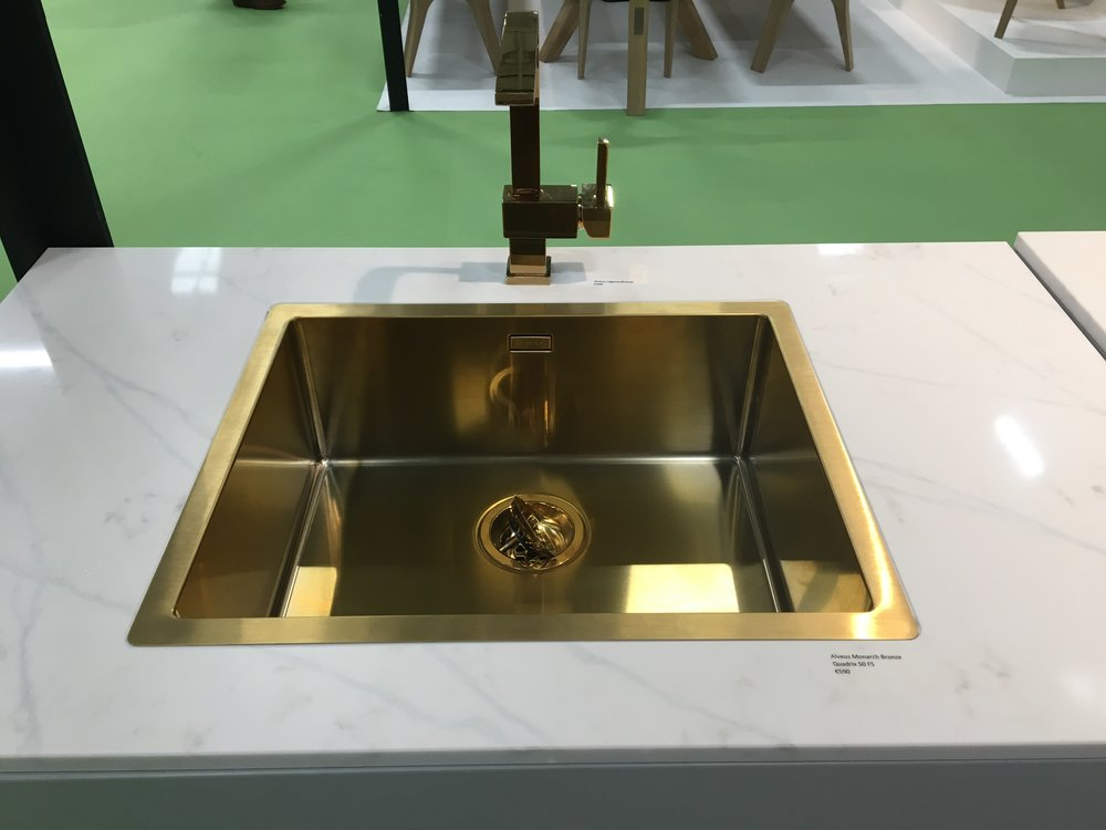 The Kitchen Sink- Statuario Silestone