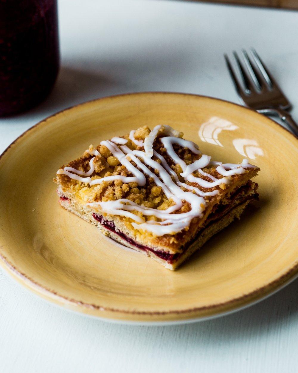 Raspberry Coffecake
