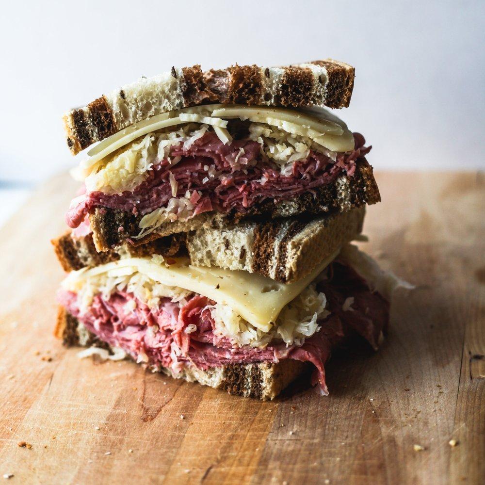 Manhattan Rye Swirl Bread