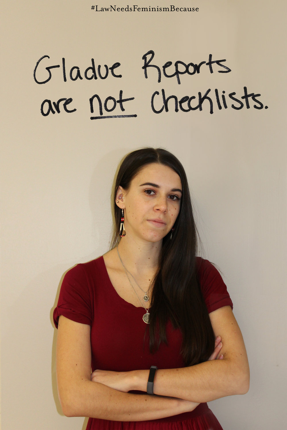 "Law Needs Feminism Because  ""Gladue Reports are not checklists."""
