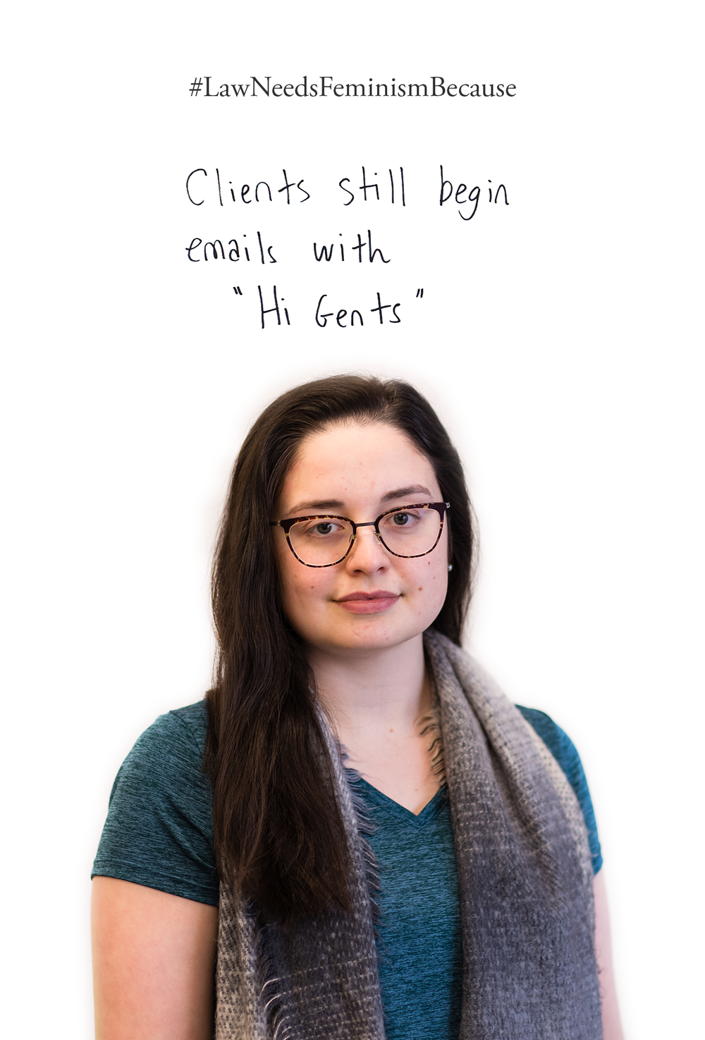 """Law Needs Feminism Because  Clients still begin emails with """"Hi Gents"""""""