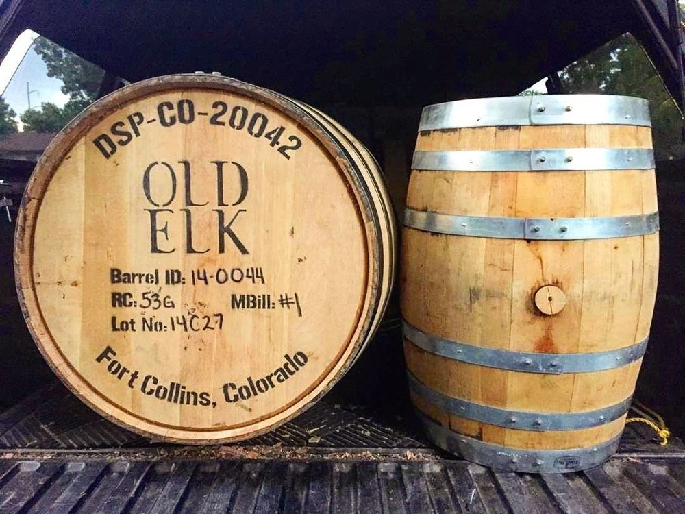 "Aug 4 |  ""Thank you Old Elk Distillery for the Bourbon barrels! We can't wait to get beer in them!"""
