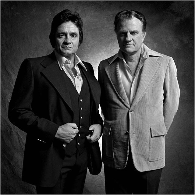 Two more good reasons to go to Heaven. Billy Graham 1918-2018.