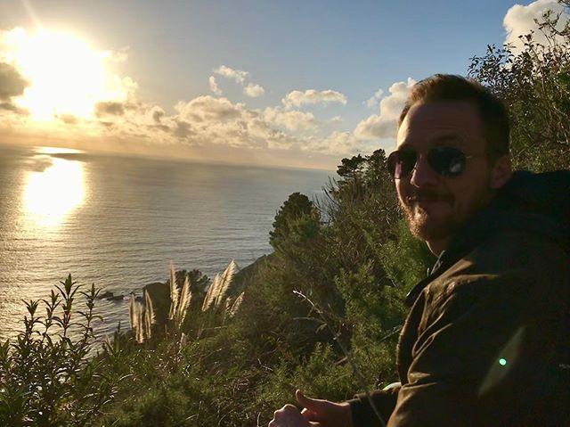 H Bomb at Big Sur.  #california  #sunset  #highway1