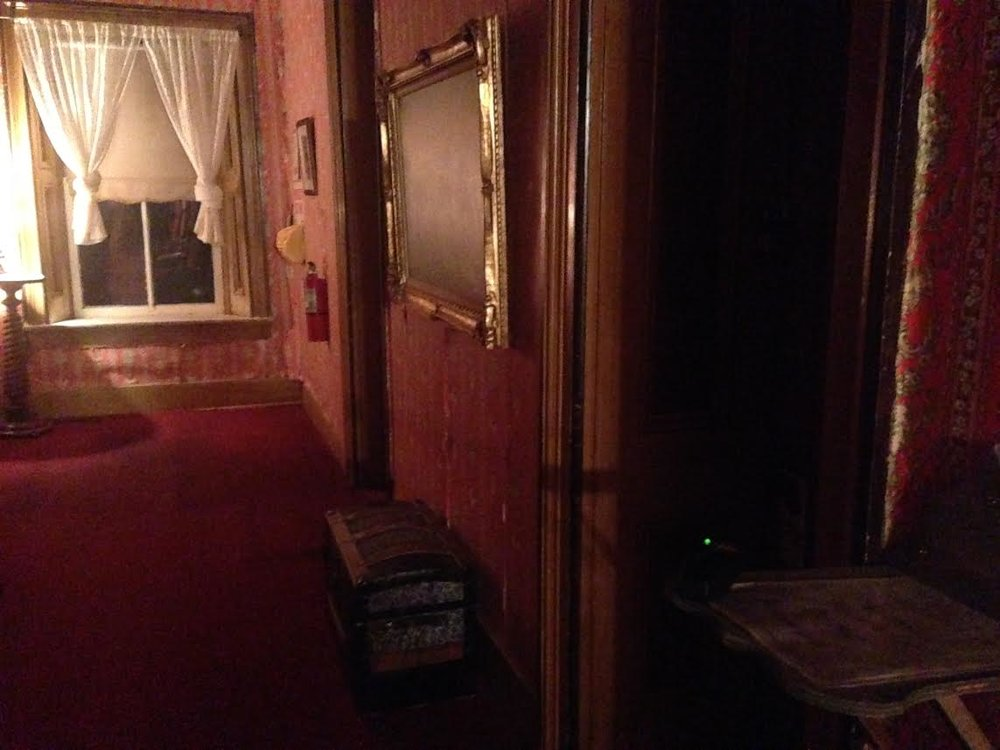 Infamous Room #18 is closed to the public.  Upon opening the door of this room, the temperature in the hall dropped 15 degrees instantly and K2 activity spiked.  It is rumored that psychics have been thrown to the ground in here, which is why it, generally, remains padlocked today.