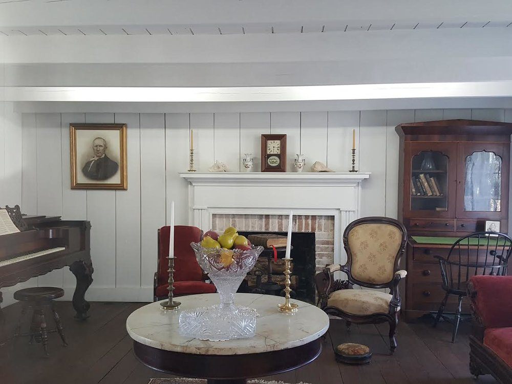 Interior photo of The Steamboat House.