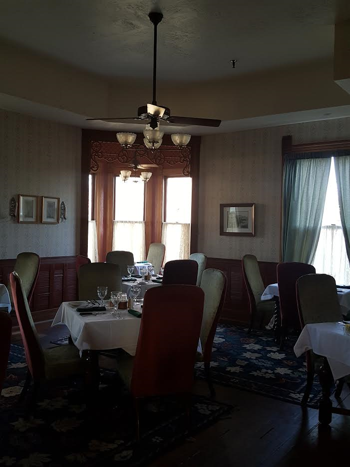 Another of the beautiful dining areas at the Woodbine featuring mouth-watering cuisine.