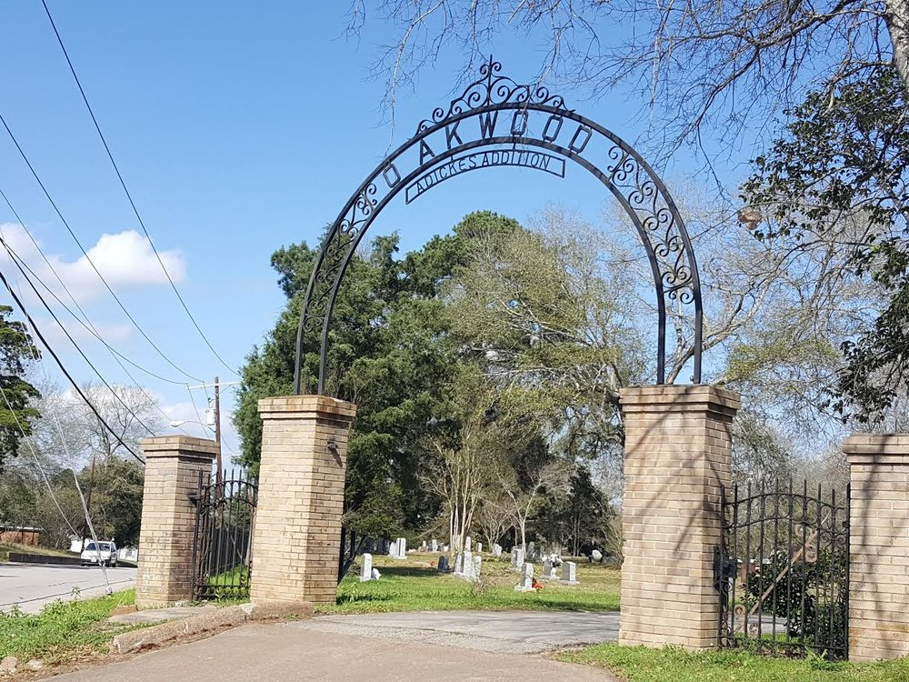 Oakwood Cemetery Annex Gate