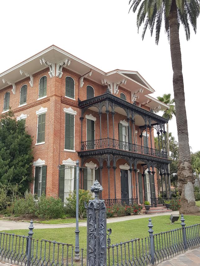 Galveston was a bustling merchant city with large, ornate mansions being erected in droves by the wealthy merchants.  Ashton Villa is one of the few remaining mansions erected prior to the Civil War and has extensive paranormal activity!
