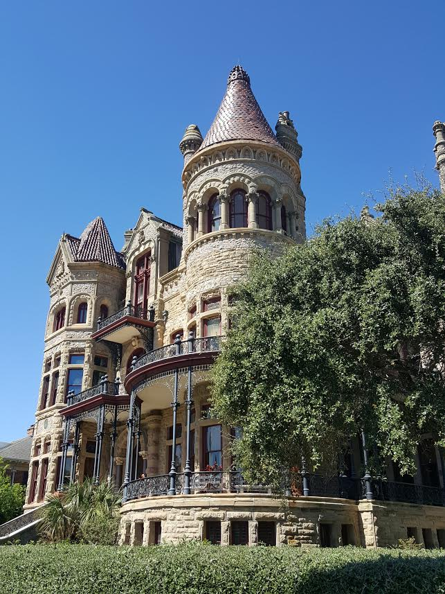 Some structures made it through The Great Storm with minimal damage.  Bishop's Palace, pictured above, was one of those.  It, however, did not make it through without its own share of ghosts!